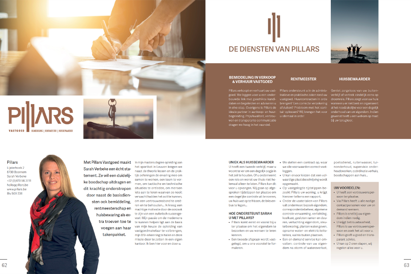 Article in Exclusief magazine nr 200