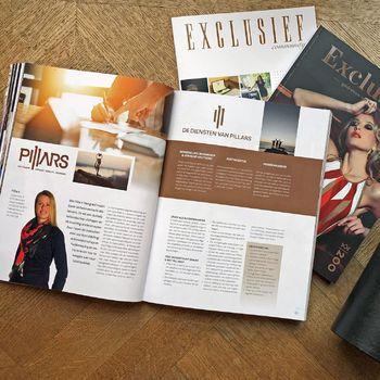 Artikel in Exclusief magazine nr 200