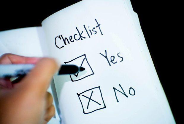 Pillars checklist